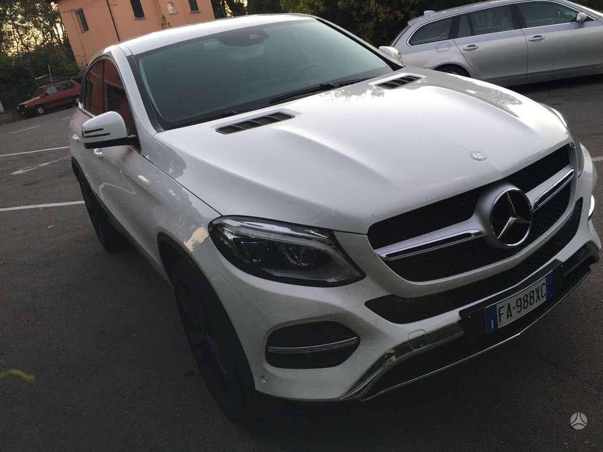 Mercedes-Benz GLE Coupe 350, 3.0 l., visureigis
