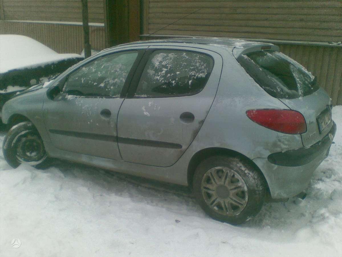 Peugeot 206 dalimis. +37068777319 s.batoro g. 5, vilnius, 8:30-