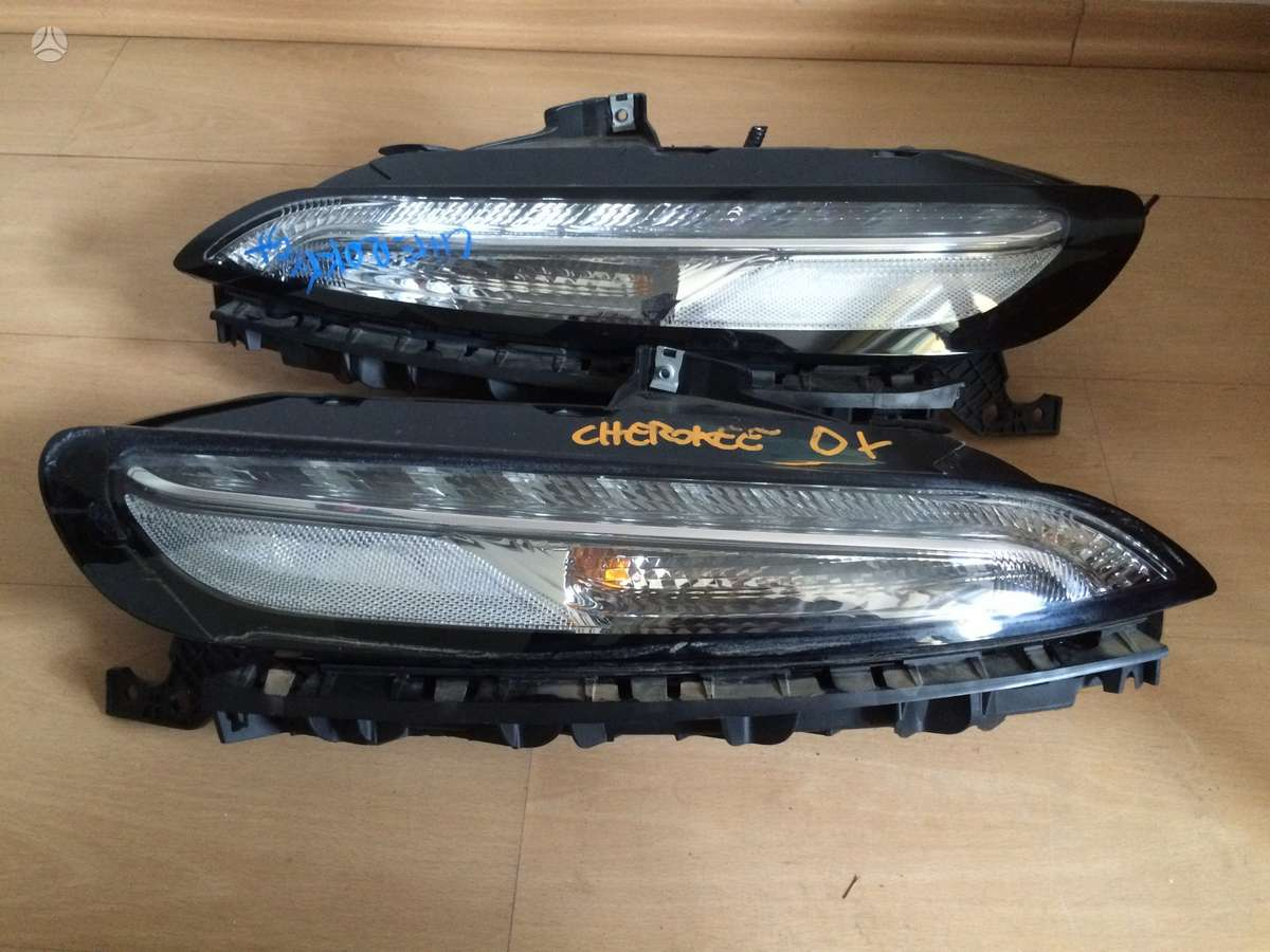 Jeep Cherokee. Jeep cherokee left xenon led headlight 2013-2015