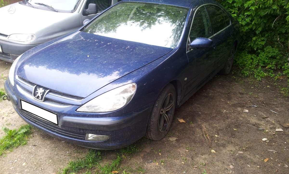 Peugeot 607 dalimis. +37068777319 s.batoro g. 5, vilnius.