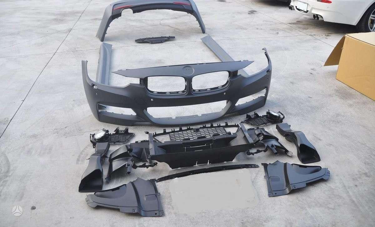 BMW 3 serija. Nauji m paketai. technic, m performance; m3 style.