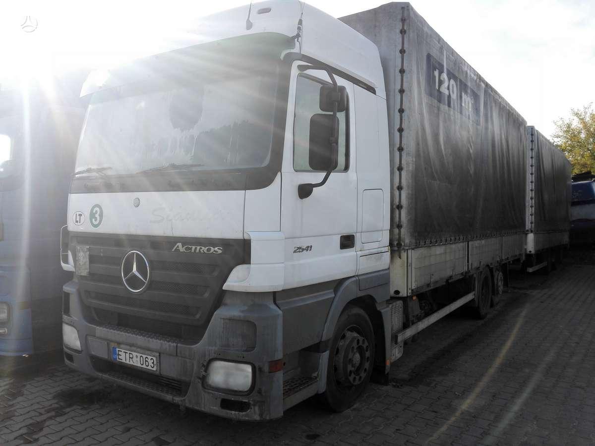 Mercedes-Benz 2541, sunkvežimiai