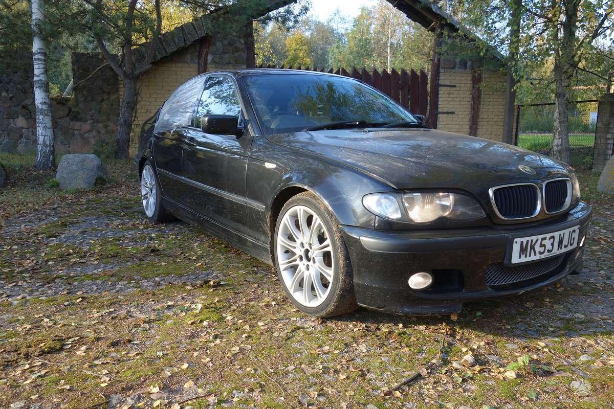 BMW 320 dalimis. Bmw e46 320d 2003m. m-tech   spalva:black