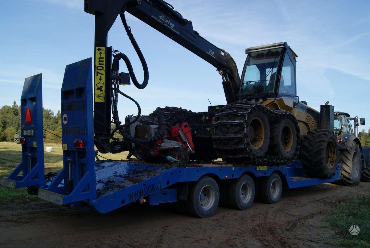 UGB Technikos pervežimo puspriekab, traktorinės priekabos