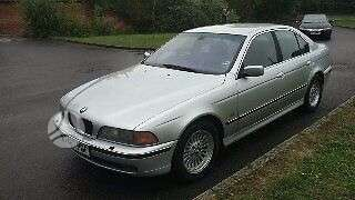 BMW 530. Bmw 530d  135kw dalimis juoda  oda multi vairas r16