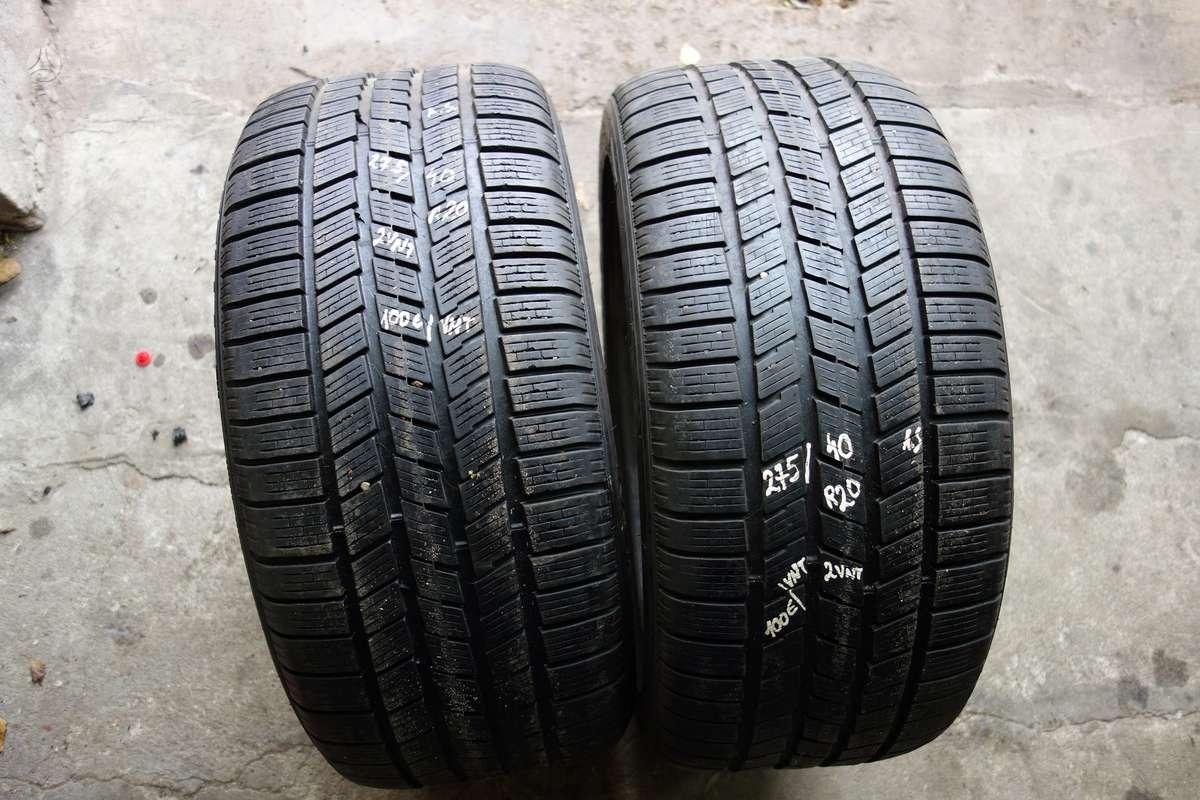Pirelli Scorpion Ice and Snow, Žieminės 275/40 R20