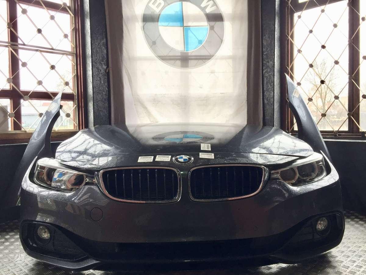 BMW 4 serija. Bmw 4 f36 komplektinis priekis  kapotas, sparnai,