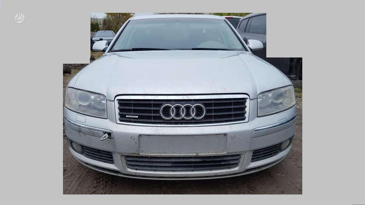 Audi A8. Detalių pristatymas į kitus miestus. audi a8 4.0 tdi
