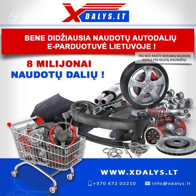Hyundai Getz dalimis. Jau dabar e-parduotuvėje www.xdalys.lt jūs