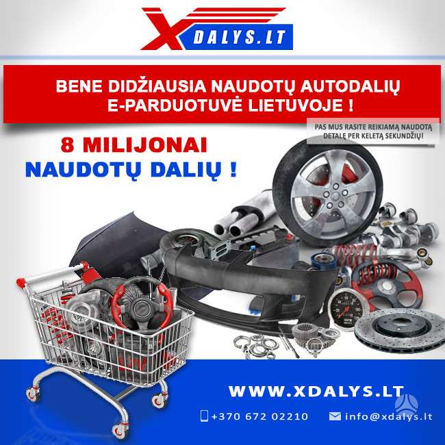 Hyundai ix55 dalimis. Jau dabar e-parduotuvėje www.xdalys.lt jūs
