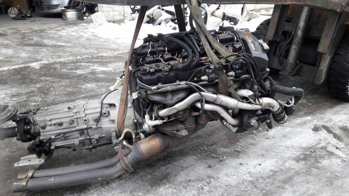 BMW 3 serija. N54 pilnas variklis su deze