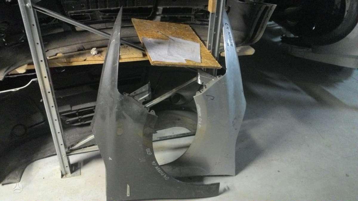 Citroen C4 Picasso. Prekyba auto dalimis naudotomis europietiš