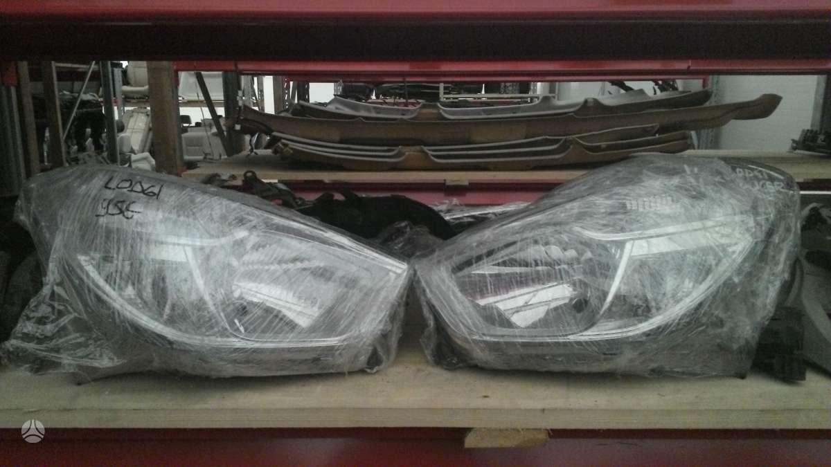 Dacia Dokker. Prekyba auto dalimis naudotomis europietiškiems,