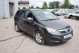 Opel Zafira. Turime daugiau opel zafira dalimis europiniu ir