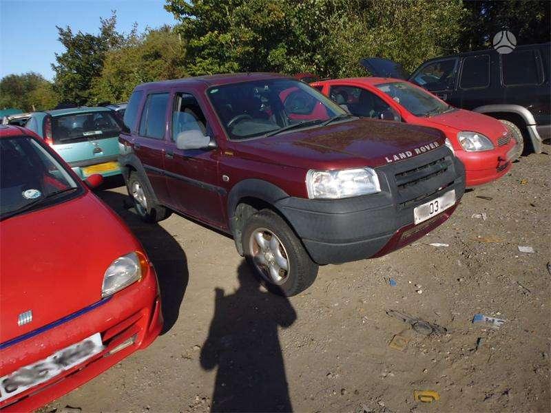 Land Rover Freelander. Tel; 8-633 65075 detales pristatome