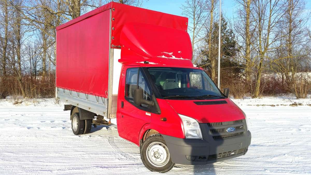 Ford 4,3x2,45m AKCIJA-AKCIJA-AKCIJA, dropside trucks with tarpaulin