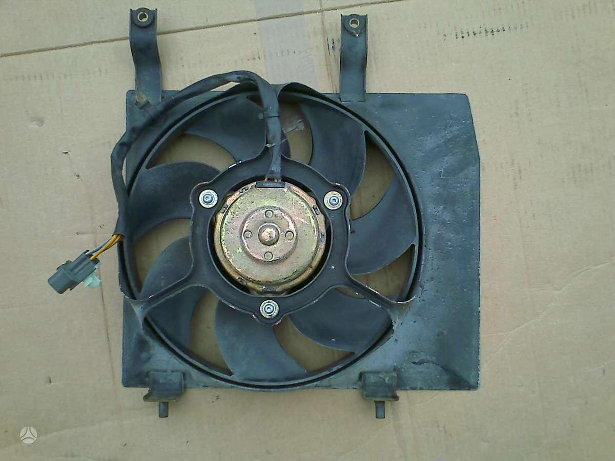 Suzuki Wagon R+ kondicionieriaus radiatorius, ventiliatorius