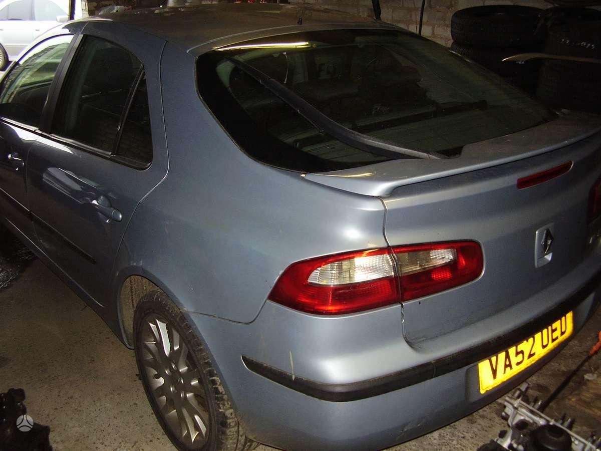 Renault Laguna. Yra daugiau ardomu auto yra variklis ir dalimis