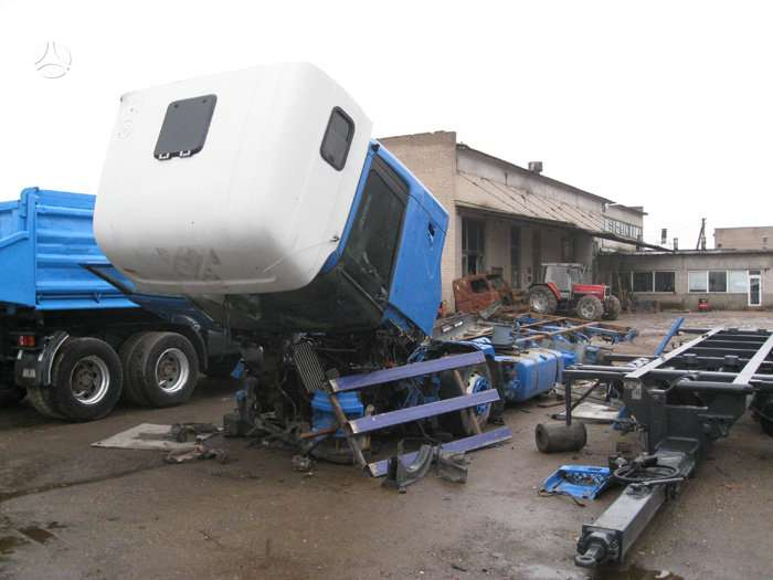 Scania, 124/400, vilkikai