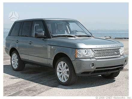 Land Rover Range Rover. Naudotos autodetales. didelis