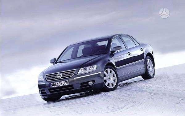 Volkswagen Phaeton. Naudotos autodetales. didelis pasirinkimas.