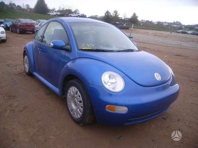 Volkswagen New Beetle. Turime visu modeliu detales pagal u ž s