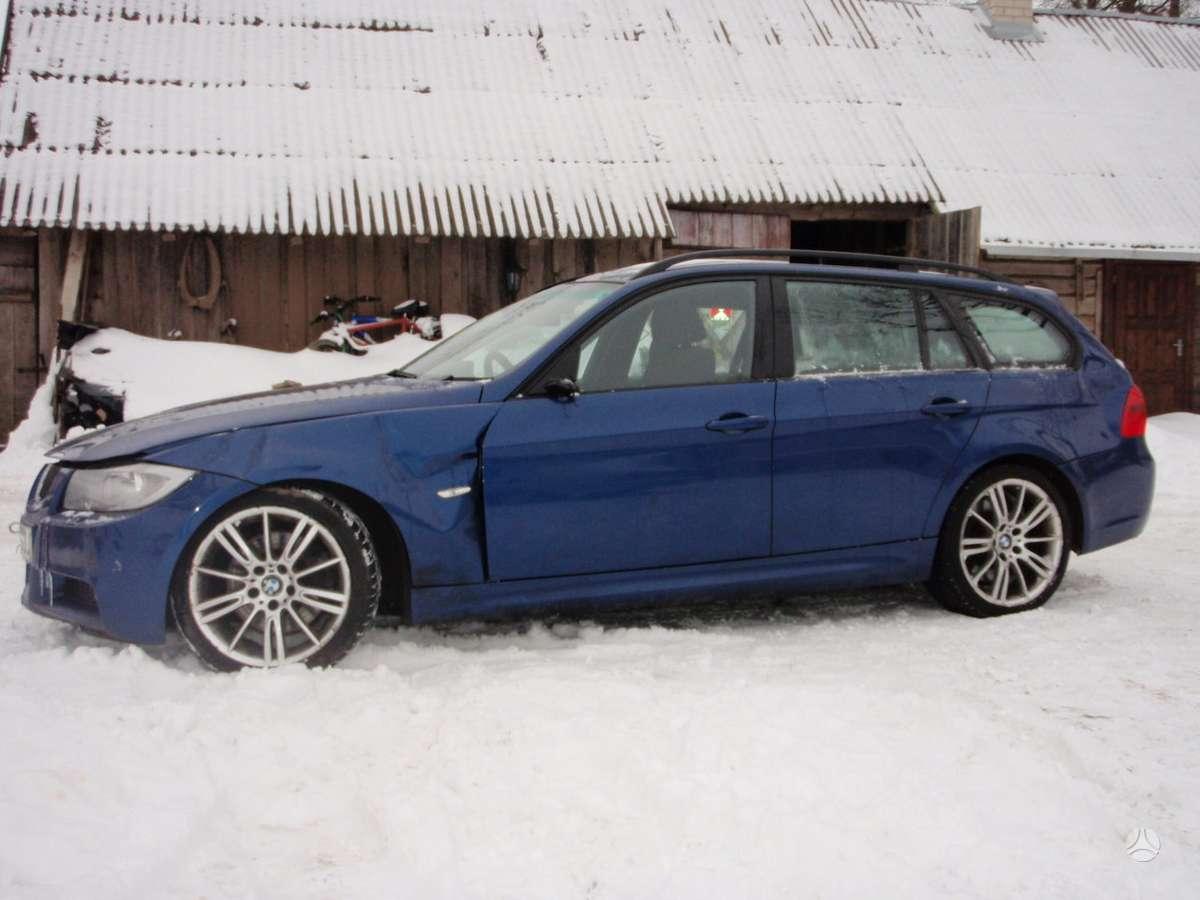 BMW 320 dalimis. Bmw e91lci 320d m touring 2010m. bmw e91lci