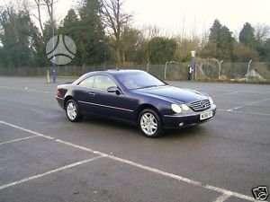 Mercedes-Benz CL klasė. Anglas