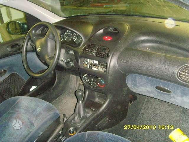 Peugeot 206 dalimis. Turime; 1,9td 1,9d 2,0hdi
