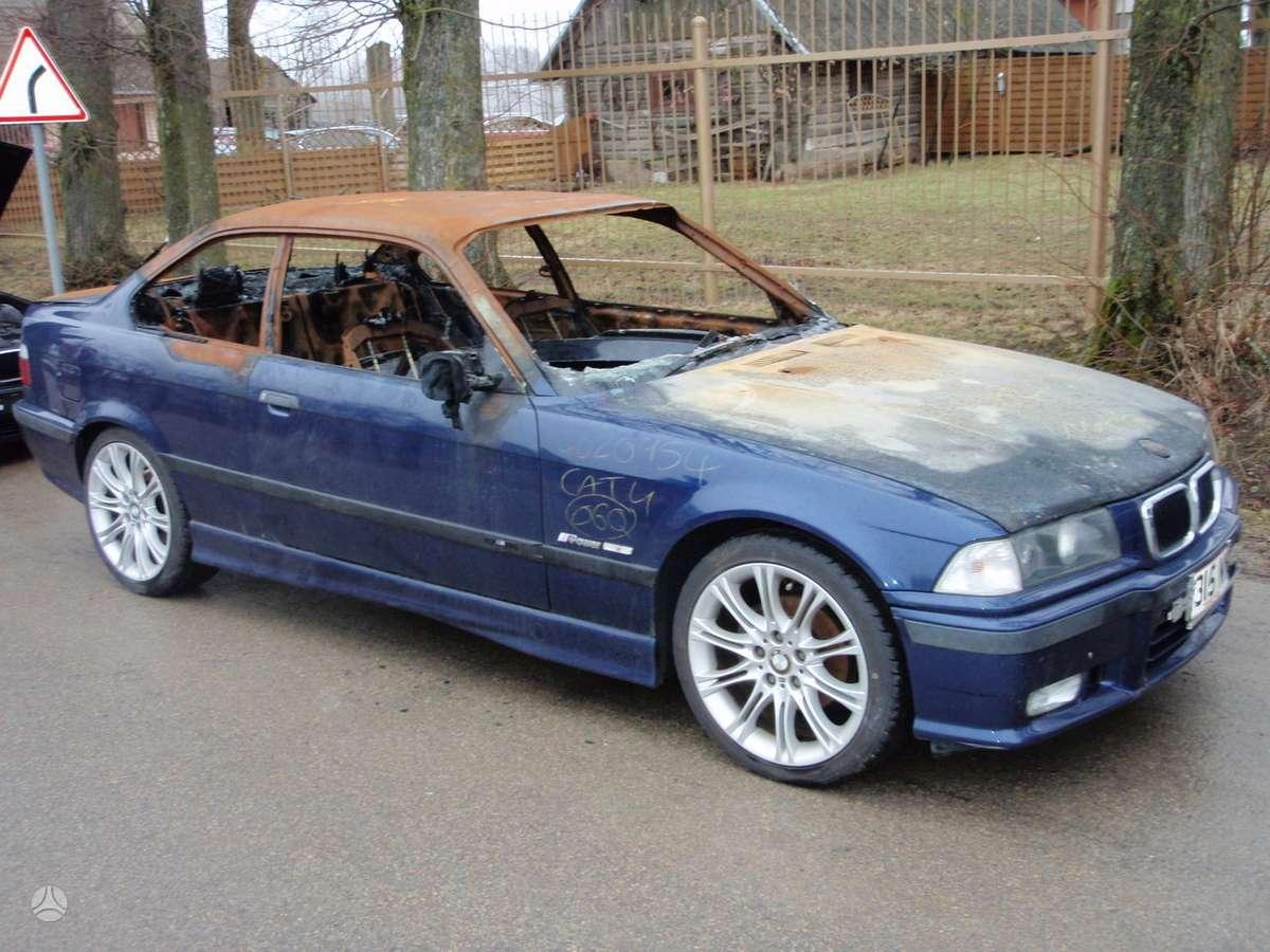BMW 3 serija. Bmw3 e36 1991-2000m. dalimis sedan, coupe,