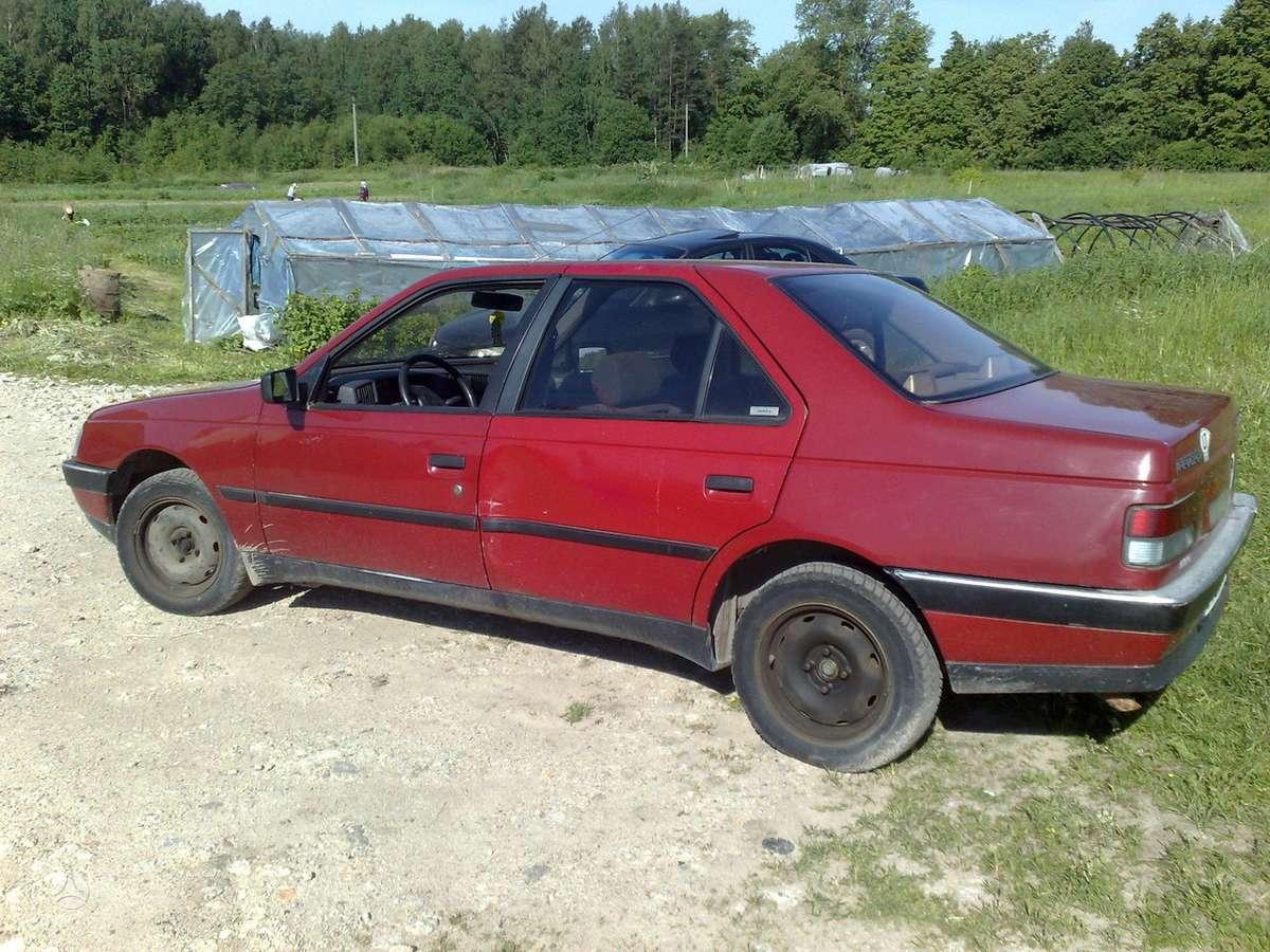 Peugeot 405 dalimis. P-405- 91m 1.6ltr. dalimis. uab