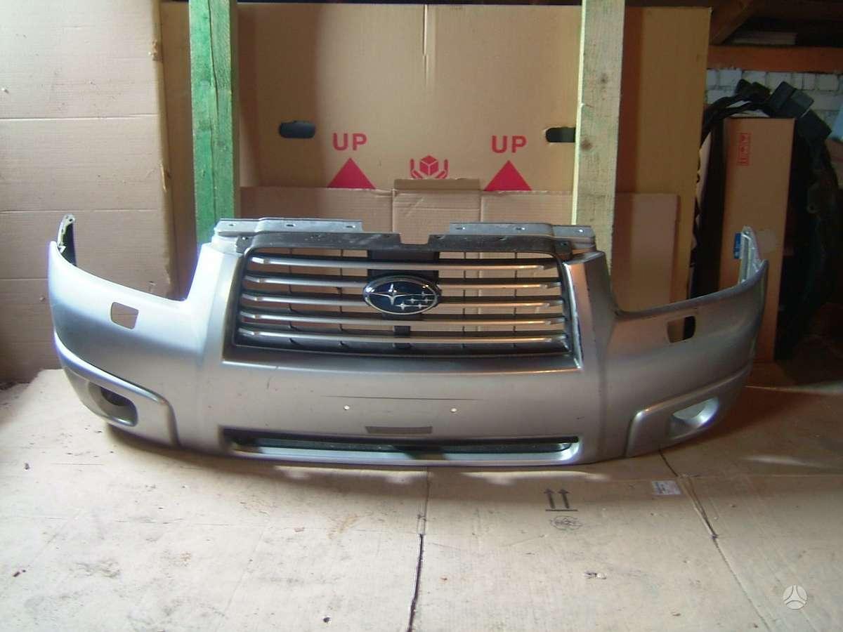 Subaru Forester. Naudotos ir naujos japoniškų ir korėjietiškų a/
