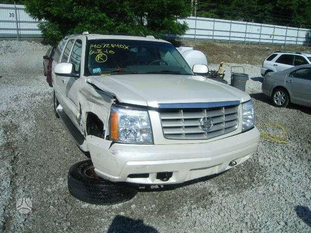 Cadillac Escalade. Visas automobilis dalimis 4wd, 6,0 l vortex