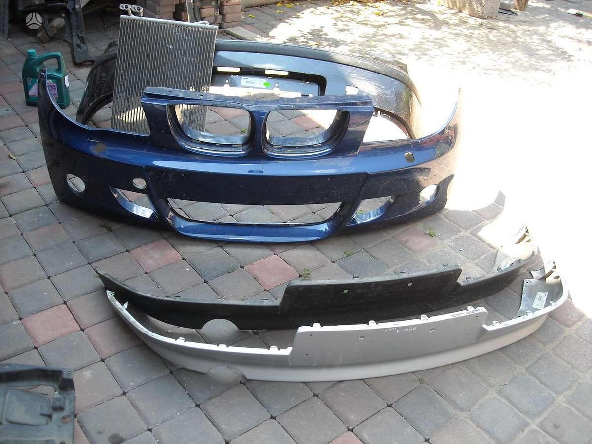 BMW 1 serija. Pr.  zibintai,------  pr.  buferis, gal. buferis, -