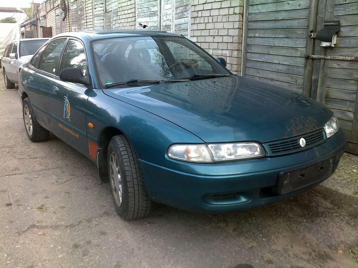 Mazda 626. 2,0l doch, kondicionierius, el. langai