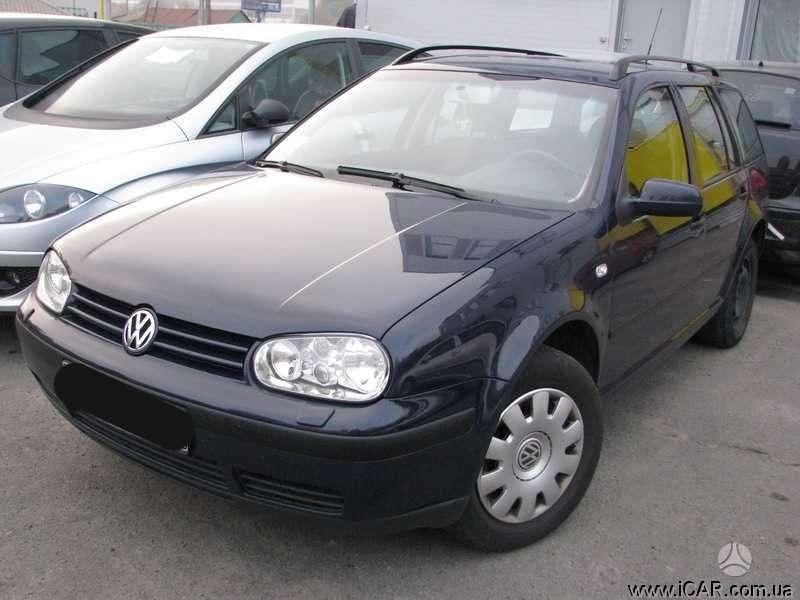 Volkswagen Golf. Ratlankiai su padongomis r16