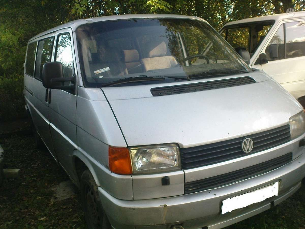 Volkswagen Caravele, keleiviniai mikroautobusai