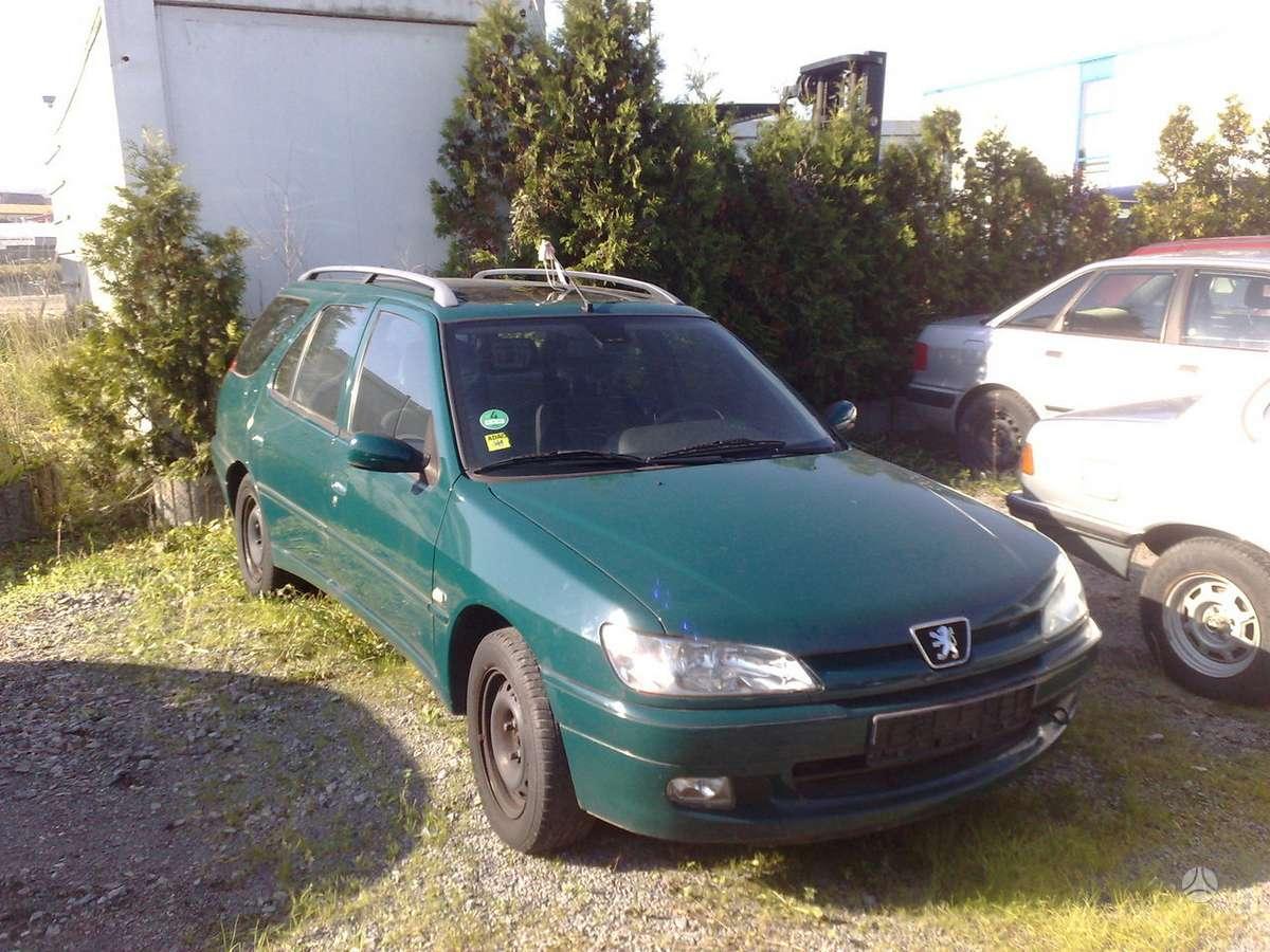 Peugeot 306. P- 306 universalas is vokietijos;;yra ir1.9d;1.9 td;