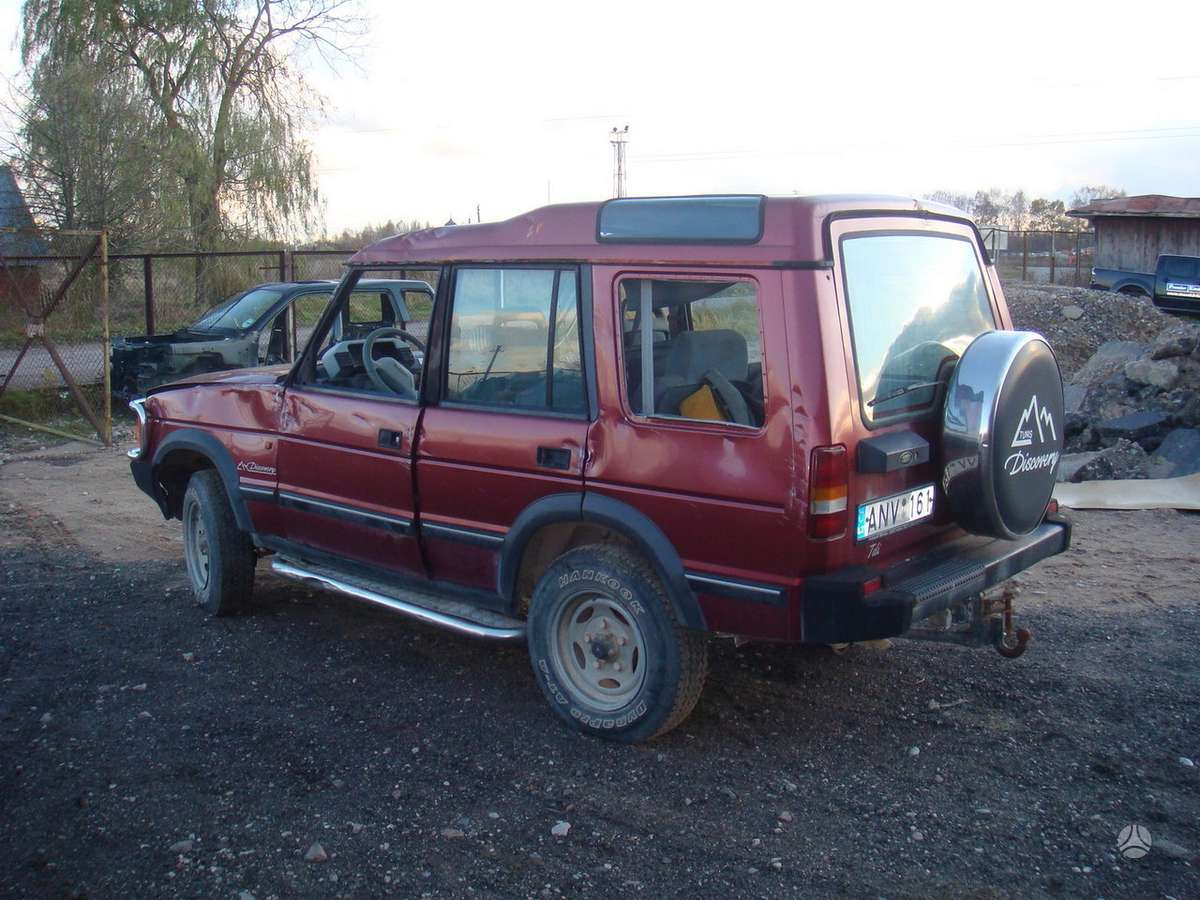 Land Rover Discovery. доставка бу запчастей с разтаможкой в минск