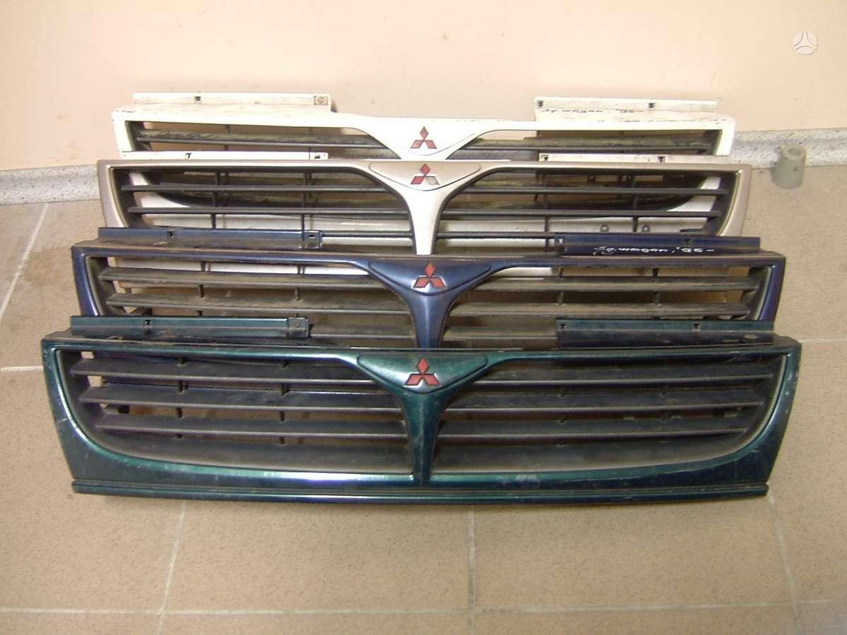 Mitsubishi Space Wagon. Naudotos ir naujos japoniškų ir korė