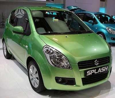 Suzuki Splash. Naudotos autodetales. didelis pasirinkimas. geros