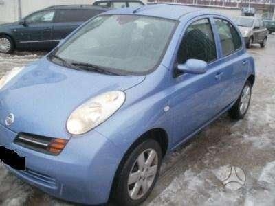 Nissan Micra. Japoniski ir korejietiski  automobiliai dalimis