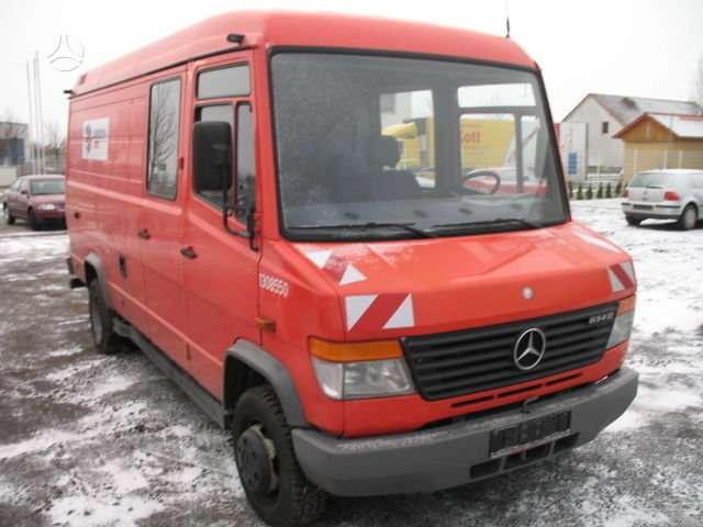 Mercedes-Benz VARIO 612, krovininiai mikroautobusai