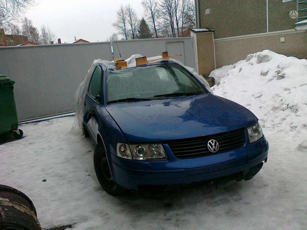 Volkswagen Passat dalimis. Iš prancūzijos. esant galimybei,