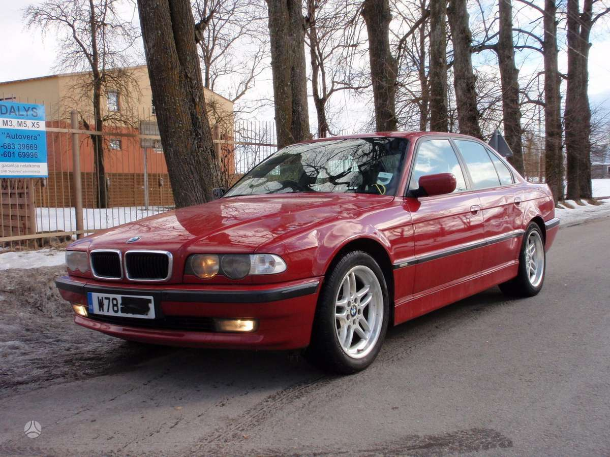 BMW 7 serija dalimis. Bmw 725tds, 730d, 728i, 730i, 735i, 740i,