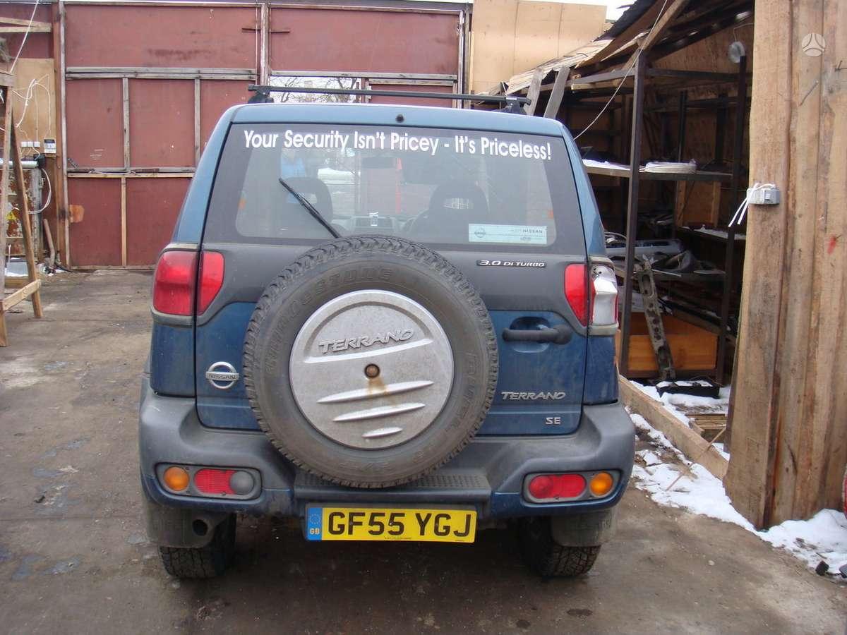 Nissan Terrano. доставка бу запчастей с разтаможкой в минск (рб)