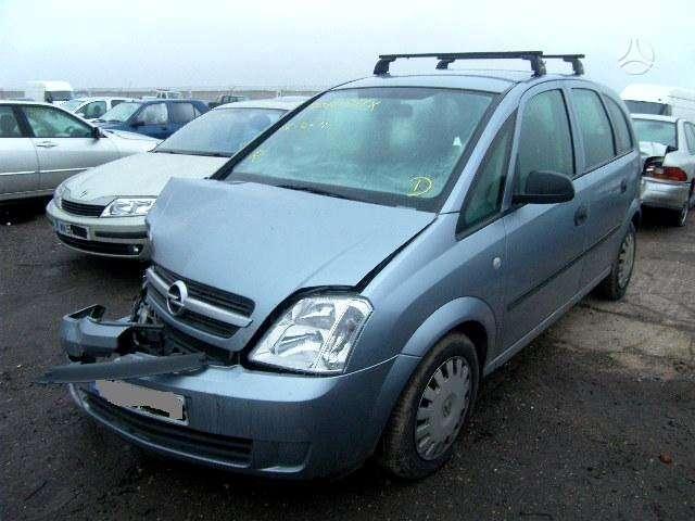 Opel Meriva. Pavaru  deze   0081226 detalių pristatymas visoje