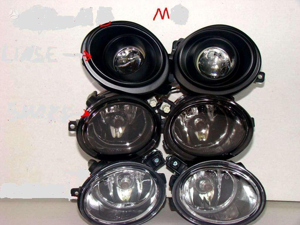 BMW 5 serija. m5 halogenai .kitos tuning dalys.groteles -