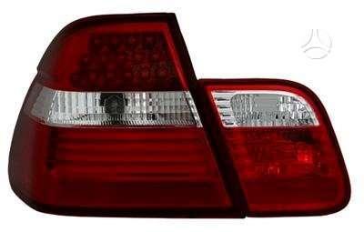 BMW 3 serija dalimis. Bmw e46 tuning žibintai. priekiniai juodi
