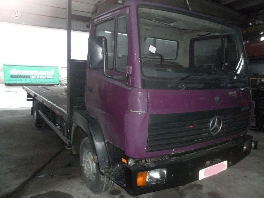 Mercedes-Benz 817   Naudotos dalys, sunkvežimiai